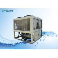 China 65 Tons Air Cooled Commercial Water Chiller For Hotels Air Conditioning System wholesale