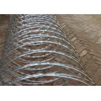 China Professional BTO-22 Security Concertina Razor Barbed Wire Hot Dieed Galvanized wholesale