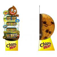 China 3D Chips More Paper Display Standee,Food Floor Displays Standees wholesale