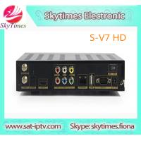 China latest product Skybox S-V7 3G Biss Key WEB TV HDMI AV OUT CCcam newcamd on sale