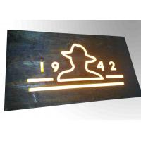 China Custom Resin Illuminated Wooden Signs Wall Mounted Decoration Bar Sign Used wholesale