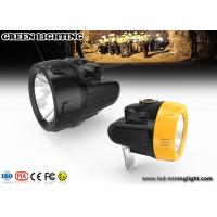 China Most powerful IP67 safety Led Coal Mining Lights rechargeable with 7000lux 110lum wholesale