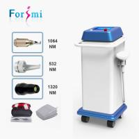 China Beauty salon use CE FDA approved q switched nd yag laser 1064nm 532nm laser painless tattoo removal wholesale