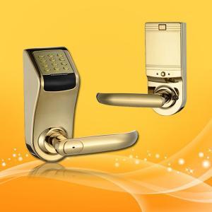 China Hidden Hole Password Door Lock with Deadbolt and Auto Locking Mode wholesale