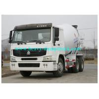 China Concrete mixer trailer 8 CBM tank 336 HP in white color with 300L Fuel Tank on sale
