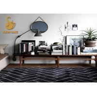 China Short Plush Chinese Oriental Rugs , Modern Kitchen Rugs Washable Dry Quickly wholesale