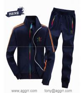 China Adidas long suit track suit sportswear men track suits wholesale