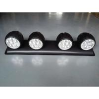 China 120W LED roof mounted spotlight with 4 Lights, Off Road 4x4 Roof 4 Clear Fog Light Setup wholesale