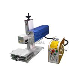 China Mini Glasses Lens Marking Machine Co2 RF Laser Marking Machine 30W wholesale
