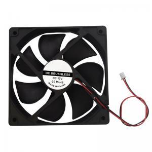 China Black DC 12V 120*120*38mm PBT 3D Printing Cooling Fan 12038 wholesale