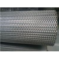 China Chain Driven Flexible Conveyor Belt Metal Mesh Straight Running Steady Performance wholesale