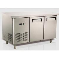 China Ventilation Cooling Stainless Steel Bench Fridge Restaurant Equipment Refrigeration US Type wholesale