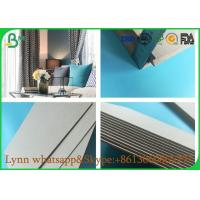 China 787mm , 889mm Or Other Size Custmized Grey Carton Paper For Making Book Cover on sale