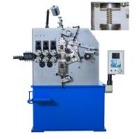 China Four Axis CNC Spring Coiling Machine 3 Phase 220V , Spring Coiling Machinery wholesale