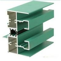 China 6005 T5 Aluminum Window Extrusion Profiles With Mill Finished / Powder painted / Anodized  Surface wholesale