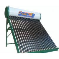 China Manufacture of non-pressurized vacuum tube solar water heating wholesale