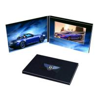 China 7 Inch Lcd Screen Digital Video Brochure For Advertising 128M-8GB Optional Memory on sale