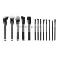 China Premier 13 Pieces Professional Synthetic Foundation Brush Kit Metal Handle on sale