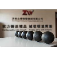 Quality Low breakage Forged Grinding Ball 20-130mm 45# 60Mn B2 B3 Material forging steel for sale