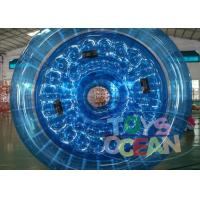 Quality Professional Transparent Inflatable Zorb Ball / Zorb Roller For 2 - 4 Player for sale