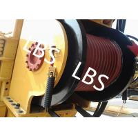 China High Efficient Offshore Winch Wire Rope Rotary Drilling Rig Winch With Lebus Drum wholesale