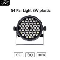 Wholesale High Power 54pcs 3W LED Plastic Par Light, Plastic LED Par Light, Stage Disco Led Par Light from china suppliers