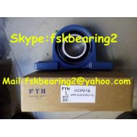 China Fyh Agricultural Machinery Insert Bearings Pillow Block Ball Bearing Ucp205 , Steel Cage wholesale
