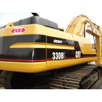 China CAT 330 Second Hand Excavators 750mm Shoe Size With 1.5m3 Bucket Capacity wholesale