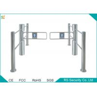 China Electric Pedestrian Access Swing Barrier Arm Gates Stainless Steel wholesale
