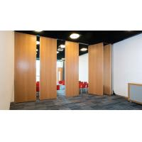 China Operable Folding Partition Walls / Interior Decorative Office Furniture Soundproof Room Divider wholesale