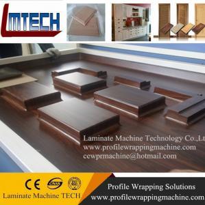 China MDF cabinets cabinet door PVC vacuum membrane press machine wholesale