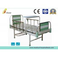 2 Crank Medical Hospital Beds Aluminum Alloy Frame Headboard With Shoes Holder (ALS-M222)