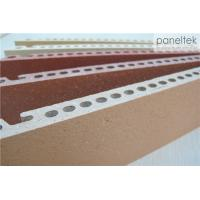 China Sandblasted Exterior Wall Materials , Anti - Fire Exterior Wall Panel Materials wholesale
