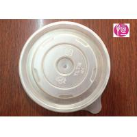 China 12oz PP Material 100mm Round Soup Lid BPA Free FDA Certificated wholesale