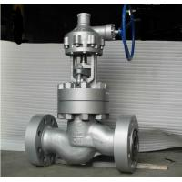 China API 6D CS Flanged Globe Valve , Gear Operated Globe Valve Class 2500 wholesale