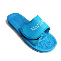 China Blue Men'S Fashion Sandals , Eva Sole Slippers With Adjustable Straps on sale