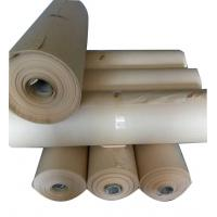 China High quality rolls package 80g 1092 width  brown  no PE  film VCI protection paper for metal anti rust package wholesale