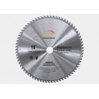 China 250mm Diameter TCT Saw Blade Laminated Panels MDF Cutting TCG Teeth Shape wholesale