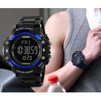 China New Men Multifunction 3D Pedometer Heart Rate 5ATM Waterproof Chrono Alarm Sport Watches 1180 wholesale