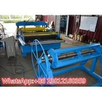 China Cut To Length Standing Seam Metal Roof Machine With Hydraulic Cutting Type on sale