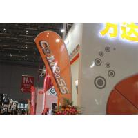 China Interior / Outdoor Teardrop Banners 3kg Cross Feet With 360 Degree Turning Radius wholesale