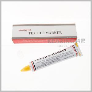 China Kearing Toothpaste Shaped Textile Marker Pen for Knitting Marking wholesale