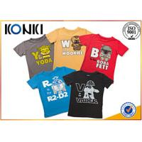 Custom Personalized Kids T Shirts With Various Colors Soft Material