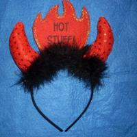 China Headband with Feather in Various Colors, Suitable for Halloween wholesale