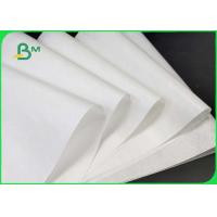 China 15g / 18g / 20g White PE Kraft Paper Coated One Side And Two Sides For Packing Food wholesale