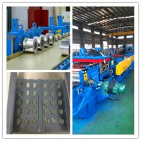 China Fully Automatic PLC control system cable tray roll forming machine 20 roller stations cold sheet wholesale
