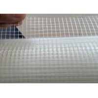 China Alkali Resistant C - Glass 3mm * 3mm * 45g Fiberglass Yarn Mesh For Inside Wall Building wholesale