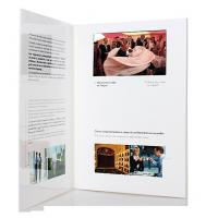 China fastivel / business gift lcd video brochure card with USB cable , Flip book - video wholesale