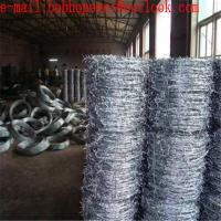 Buy cheap galvanized barbed wire/anti theft barbed wire mesh/barbed wire fencing/reverse twist 2.1mm*1.80mm barbed wire from wholesalers