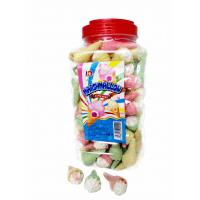 China Jar Packaging Snacks Ice Cream Shape  Fruity Flavor Marshmallow Candy ,  Customized Marshmallow Sweets And Soft wholesale